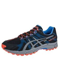 Cheap Asics Gel-Fuji Attack G-TX Running Shoe Black / Gr