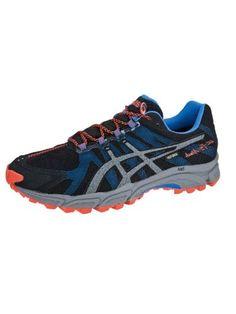 Cheap Asics Gel-Fuji Attack G-TX Running Shoe Black / Gr Black Running Shoes, Black Shoes, Cheap Asics, Fuji, Free Delivery, Sneakers, Shopping, Fashion, Black Sneakers