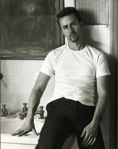 Edward Norton by Herb Ritts