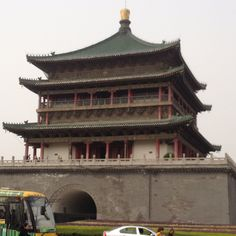 Bell tower on the center of Xi'an #china