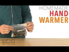 Homemade Hand Warmer - Sick Science! #227 - YouTube