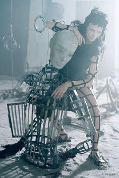 Like a Warrior in Vogue Italy with Mariacarla Boscono - (ID:12502) - Fashion…