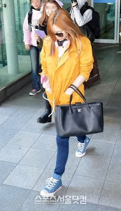 SNSD at Incheon Airport Mar 11 2013