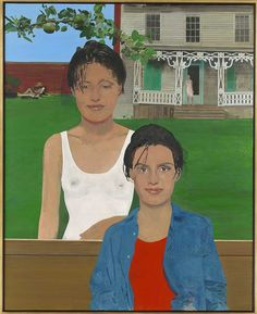 "huariqueje: "" The Twins in Their Tea Garden - Peter Blake , 1991 British, Oil on panel, 127 x cm. x 40 in. Peter Blake, Beatles Albums, Pop Art Movement, Pop Culture Art, Famous Artists, British Artists, Cultura Pop, Art Images, Amazing Art"