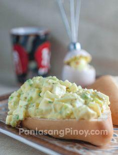 Easy Egg Salad. Mmm this sounds good.