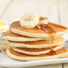 Gluten-Free Pancakes: Easy and delicious. Ta-Da! King Arthur Mix, wonder how these compare in carbs to others?