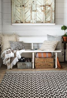 Inspired By Clic Nordic Sweater Motifs The Magnolia Home Joanna Gaines Emmie Kay Rug Lends Sophistication And Elegance To Your E