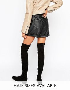 Image 1 of ASOS KEEP SAKE Flat Over The Knee Boots