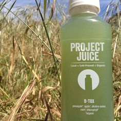 Love this amazingly refreshing, healthy, and sweet D-Tox juice from @Project Juice  Cheers to your health! #juice #detox #healthy