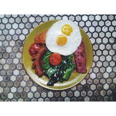 its friday.. . #breakfast#foodiestiles #tile#ihavethisthingwithfloors #tileaddiction #foodgasm #foodporn #food by padusi34