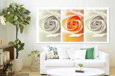 Creamy Dreamy Roses Triptych by Jenny Rainbow Prints For Sale, Art For Sale, Shabby Chic Prints, Rainbow Website, Triptych Art, Artist Work, Pastel Colour Palette, Fine Art Prints