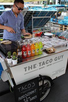 Food Bike Gourmet para comida mexicana: