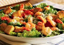 Best meal I ever had? Seafood Caesar salad with crab, shrimp and scallops! I'm salivating...
