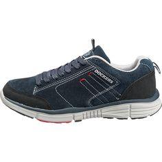Diese Dockers by Gerli Freizeit Schuhe sind aus weichem Rauleder gearbeitet und bieten dank des Meshfutters einen atmungsaktiven Komfort. Der Fuß wird auf eine besonders weich gepolsterte Decksohle gebettet. <br /> <br /> - Verschluss: Schnürung<br /> - farblich abgesetzte Ziernähte<br /> - gepolsterte Einstiegskante mit Zugschlaufe <br /> - verstärkter Zehen- und Fersenbereich <br /> - dicke, flexible Laufsohle mit Profil<b...