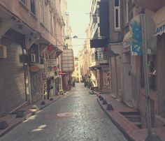 The little streets around Galata Tower in Istanbul. Nay Palad Journey
