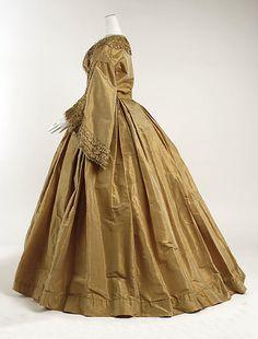 Morning dress 1859-60