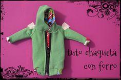 diario de naii: Tuto chaqueta con forro I (a partir de qualsevol patró sense forro)