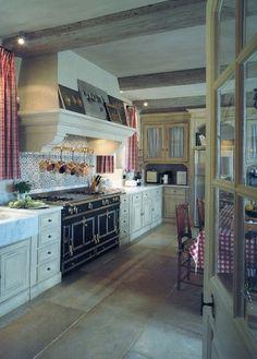 An Old World Kitchen