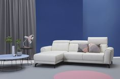 Narożnik Milana firmy Etap Sofa. Sofa, Couch, Milan, Furniture, Home Decor, Dots, Settee, Settee, Decoration Home