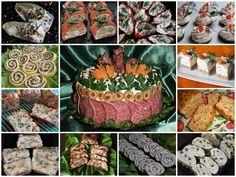 APERITIVE FESTIVE - CAIETUL CU RETETE Romanian Food, Romanian Recipes, Good Food, Yummy Food, Food Art, Delish, Sandwiches, Food And Drink, Appetizers