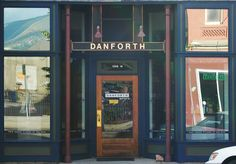 Outside shots of businesses in Livingston, Montana. Danforth Gallery.