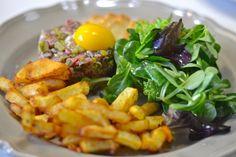 Steak Tartare Steak Tartare, Food Shows, Carne, Cooking, Ethnic Recipes, Stuffed Steak, Kitchen, Brewing
