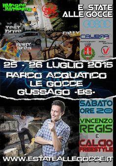 """Sabato 25 e domenica 26 luglio 2015 """"E...state alle Gocce"""" - http://www.gussagonews.it/e-state-alle-gocce-luglio-2015/"""