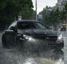 Raining AMG.