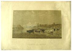 Carlo Pittara Pittore ( Torino 1835-36 - Rivara Canavese (Torino) 1891) Titolo Lungo La Senna