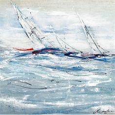 Full Sail II - Nautical Art ~ Clique Interiors
