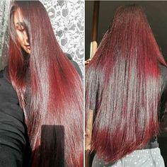 Annapaola, capelli di seta grazie all'henné.