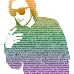 Mac Miller Portrait made out of lyrics Blue Slide Park, Mac Miller Quotes, Mac Miller Tattoos, Best Music Artists, Hip Hop Rap, The Wiz, Man Crush, Baby Love, Good Music