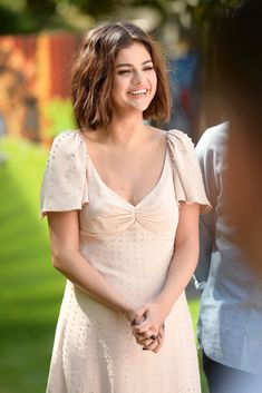 Selena Gomez attending the photocall for 'Hotel Transylvania 3 Summer Vacation' at Sony Pictures Studios in Culver City