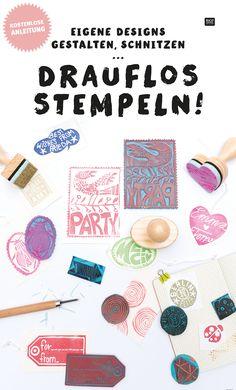Das Stempelmotiv eurer Träume?! Ein Einhorn Stempel, euer Lieblingszitat oder die Initialien für eine Hochzeitseinladung... Designt und schnitzt euch euren eigenen Stempel! Erstellt euch ganz individuelle Muster, Sprüche und mehr... Die kostenlose Schritt-für-Schritt Anleitung und das passende Material (Schnitzwerkzeug, Stempelgummis und Stempelgriffe) findet ihr bei uns im Online-Shop: www.idee-shop.com #tutorial #ideas #diy