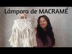 super ideas for diy wedding boho candle holders Macrame Projects, Macrame Tutorial, Boho Wedding, Diy And Crafts, Youtube, Candle Holders, Weaving, Tapestry, Decoration