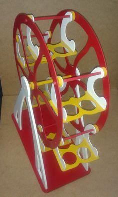 Noria / Ferris Wheel Base para cupcakes Cupcake Holder