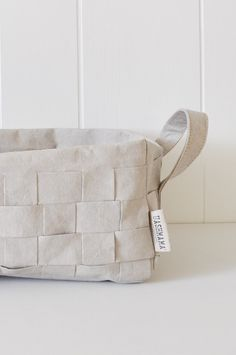 Uashmama Paper Basket - Woven Gray Large