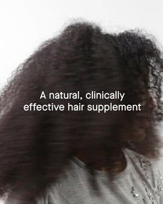 Trusted by over physicians, Nutrafol is the clinically tested, drug-free and plant-based nutraceutical that can multi-target the many common causes of thinning hair. Natural Hair Care, Natural Hair Styles, Natural Facial Cleanser, I Like Your Hair, Healthier Hair, Hair Care Brands, Essential Oils For Hair, Hair Growth Oil, Strong Hair