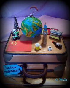cakes - masha   travel cake around the world cake