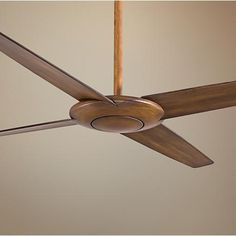 The Pancake ceiling fan design brings a light, refreshing breeze to your living space while maintaining an understated, low-profile look.