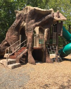 And you won't be able to pull the kids away from the nature-themed playground. You could spend hours just in this one spot!