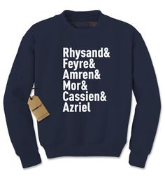 The Night Court Squad Adult Crewneck Sweatshirt