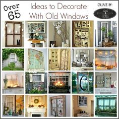 little brags decorating with old windows ideas for designing home fo