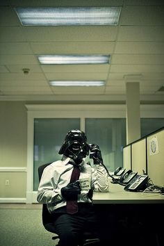 Darth Vader office wear