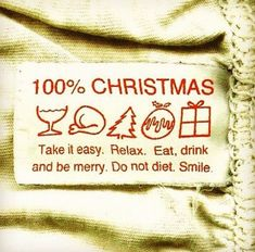 Christmas to-do list: nothing. Just relax, eat, drink, smile, be merry. Christmas Labels, Noel Christmas, Merry Little Christmas, Christmas And New Year, All Things Christmas, Winter Christmas, Merry Xmas, Christmas Quotes, Funny Christmas