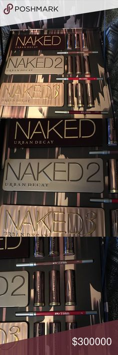 🦋2017 Urban Decay Naked Vault IV 🦋 Brand new, authentic vault purchased from UD. Sleeve and bubble wrap will be provided, along with original UD purple tissue. Please view my feedback on all my cosmetic items too. Top 10% seller & Posh Ambassador🦋 buy with confidence! Reasonable offer only accepted, thanks! Urban Decay Makeup
