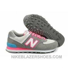 new balance gris claro y rosa