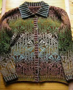 Ravelry: angelaxxx's Kauni Lindisfarne Jacket