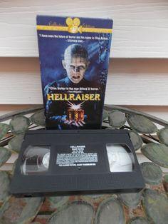 Vintage 1994 Hellraiser Horror Movie VHS by PfantasticPfindsToo, $5.99
