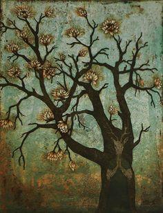 """Toivomuspuu"" (""Wish Tree"") by Finnis artist Piia Lehti (2014). I adore this."